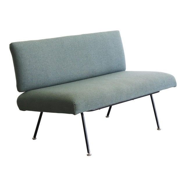1950s Mid Century Modern Florence Knoll Model 32 Settee For Sale
