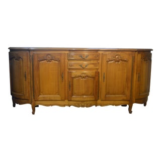 Louis XV French Country Cherry Enfilade For Sale