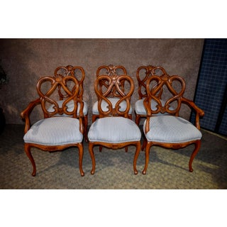 1970s Vintage French Provincial Style Dining Chairs- Set of 6 Preview