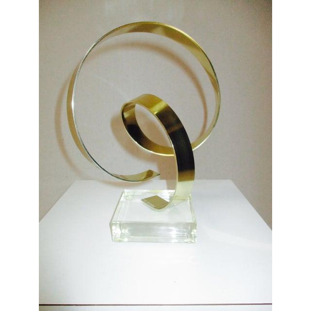 Dan Murphy Vintage Kinetic Modernist Sculpture - Image 9 of 11