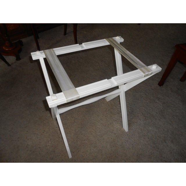 Lap Tray Side Table Antique White - Image 7 of 10
