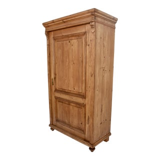 Pine One Door Wardrobe For Sale