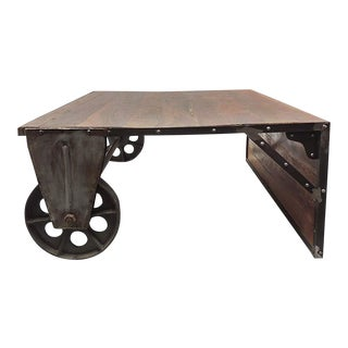Industrial Aloin Hall Console Table For Sale