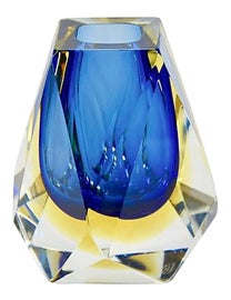 Image of Murano Glass Sommerso Bottles and Jars and Jugs