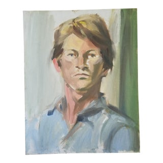 Barbara Yeterian Portrait of a Man For Sale