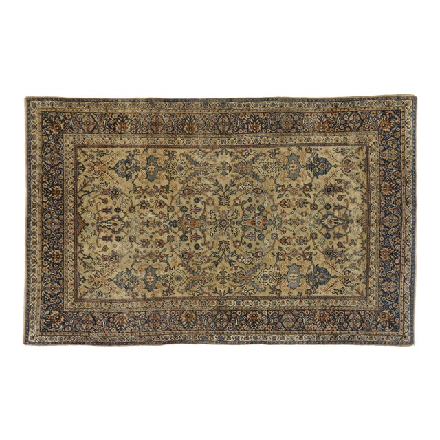 Antique Persian Sultanabad Rug - 06'04 X 09'10 For Sale