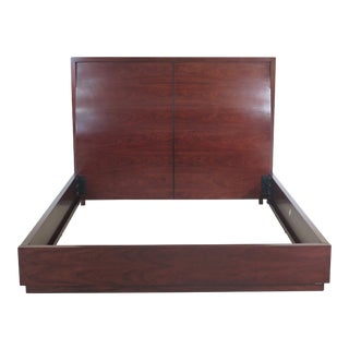 Mid-Century Modern Bolier Modern Design California King Size Bedframe For Sale