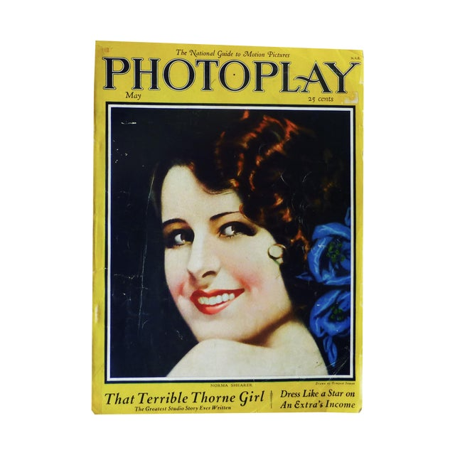 Photoplay Magazine, Norman Shearer, 1925 - Image 1 of 11
