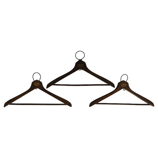 1930's Coat Check Numbered Hangers- Set of 6 - Image 2 of 5
