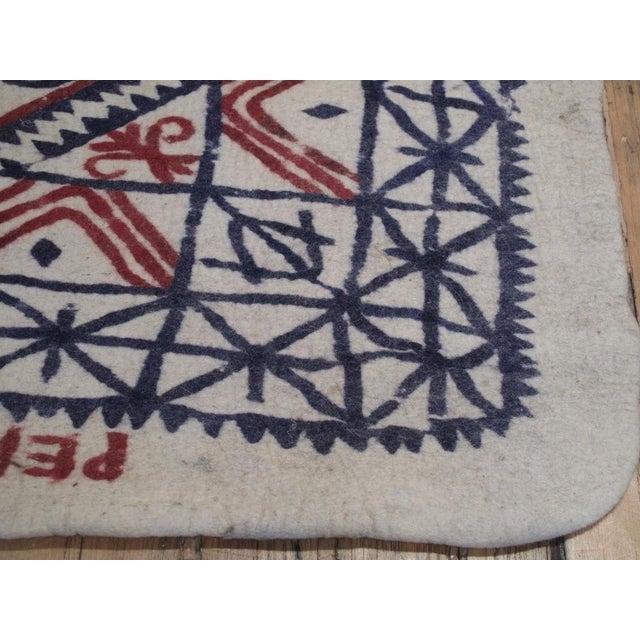 Textile Large Felt Runner For Sale - Image 7 of 8