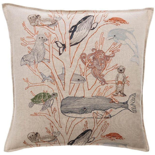 Coral Forest Pillow - Image 5 of 5
