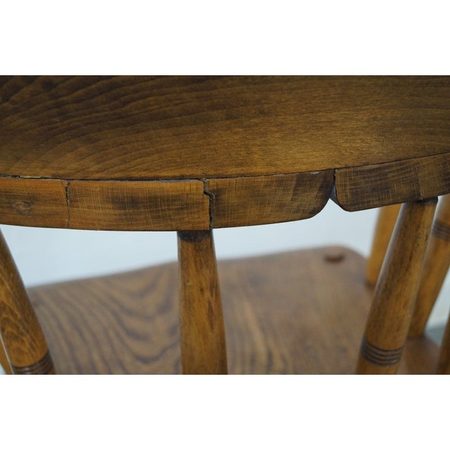 Antique English 19th Century Pub Chairs - Set of 4 For Sale - Image 7 of 10