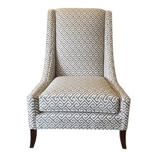 New Blair Accent Chair by Leathecraft For Sale