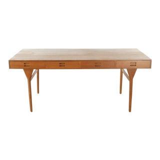 Soren Willadsen Mobelfabrik Nanna Ditzel 4-Drawer Rosewood Writing Desk For Sale