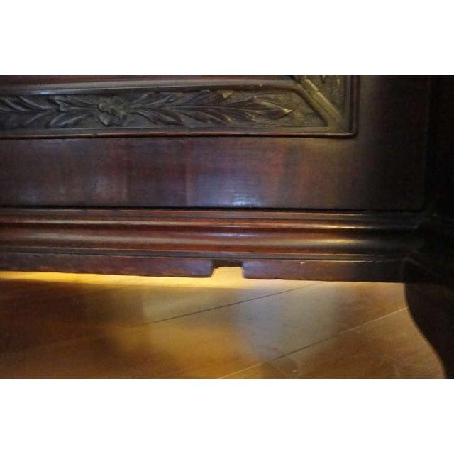 George II Style Mahogany Desk - Image 6 of 8