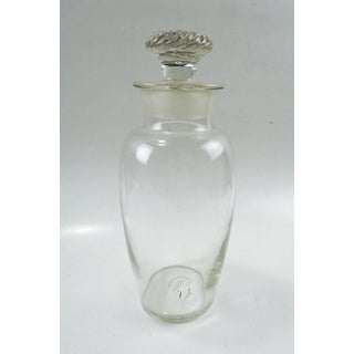 Antique Mold Blown Glass Apothecary Jar Preview