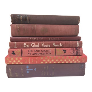 Collection of Red Books - Set of 7