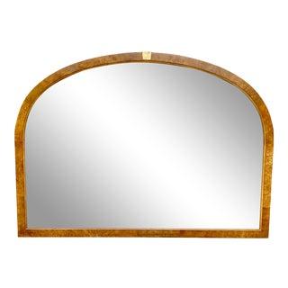 Vintage Burl Wood Mirror For Sale