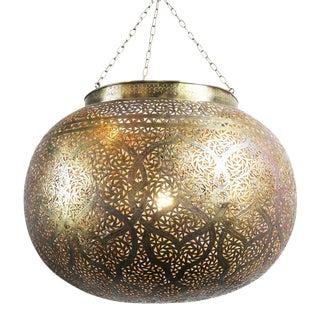 Brass Work Pumpkin Lantern For Sale