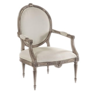 Swedish Sabylund Manor Occasional Arm Chair For Sale