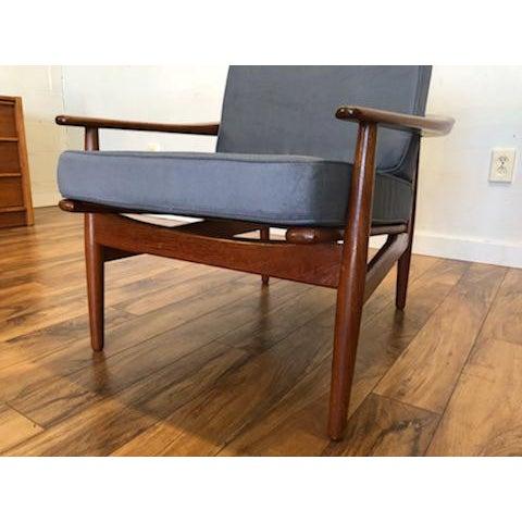 Grete Jalk Danish Teak Lounge Chair For Sale - Image 10 of 13