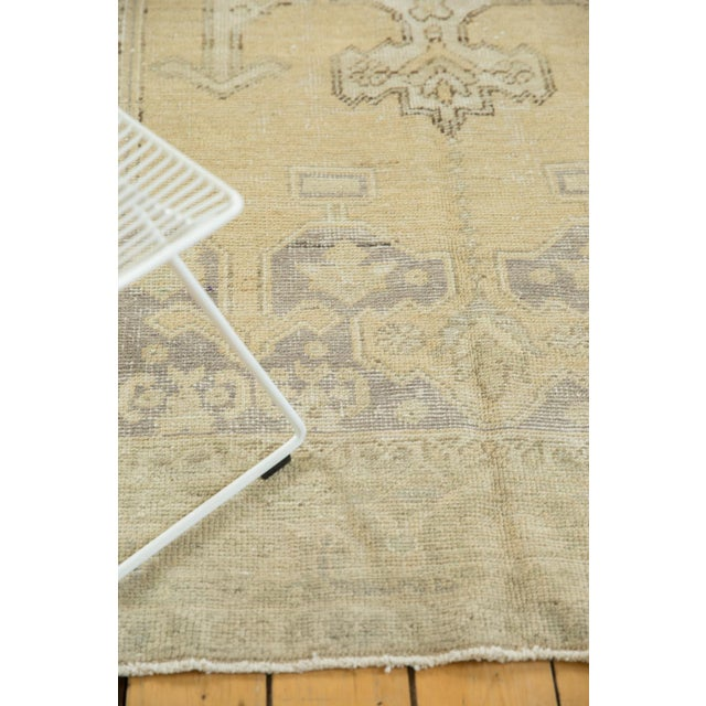 """Old New House Vintage Distressed Oushak Carpet - 5'6"""" X 9'1"""" For Sale - Image 4 of 13"""