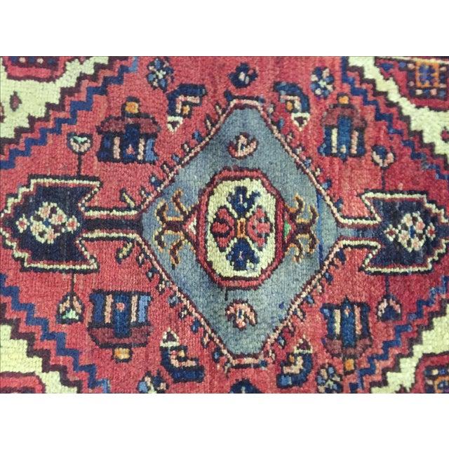 Hamadan Persian Rug - 2′3″ × 3′ - Image 6 of 7