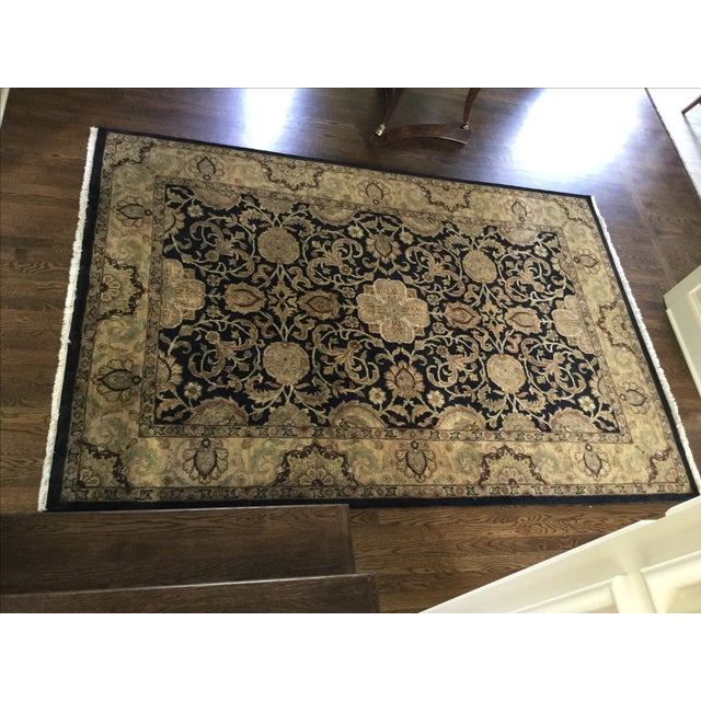 Ethan Allen Rug - 5′10″ × 8′9″ For Sale - Image 7 of 7
