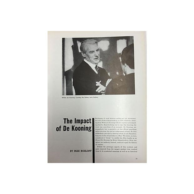 New York: The Art World 1964 For Sale - Image 9 of 9