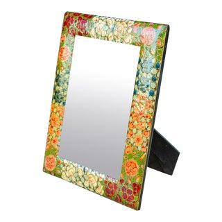 Mache Kashmiri Multicolor Mirror For Sale