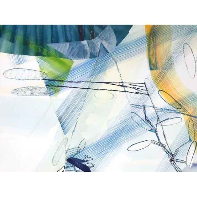 "2010s Josette Urso ""Sea Whisper"" Painting, 2018 For Sale - Image 5 of 6"