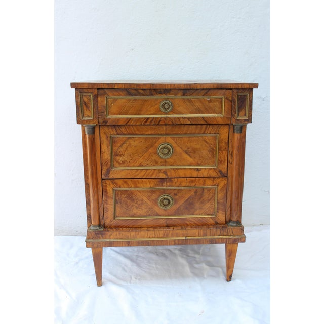 19th Century Italian Fruitwood Nightstand For Sale - Image 12 of 12