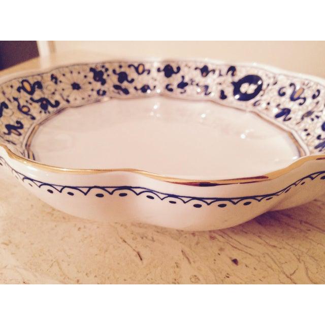 Italian Fine China Porcelain 24 Karat Gold Dish - Image 5 of 7
