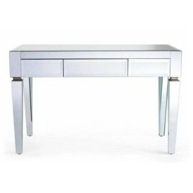 Neiman Marcus Mirrored Desk - Image 4 of 4