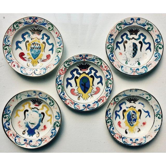 5 Vintage Florentine Trinket Dishes For Sale - Image 10 of 10