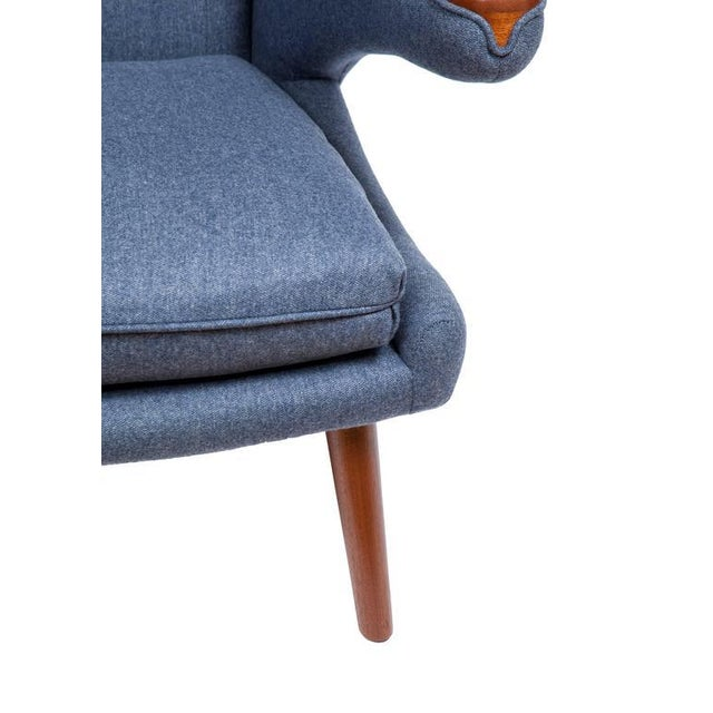Pavel Wingback Armchair For Sale - Image 5 of 6