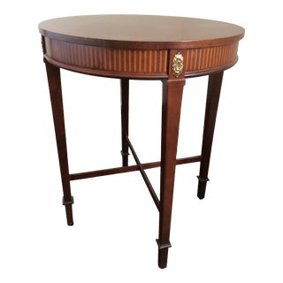 18th Century Baker Furniture Collection Lamp Table For Sale