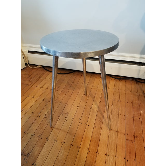 Modern West Elm Tripod Side Table For Image 3 Of