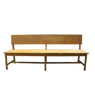 Contemporary Wooden Bench