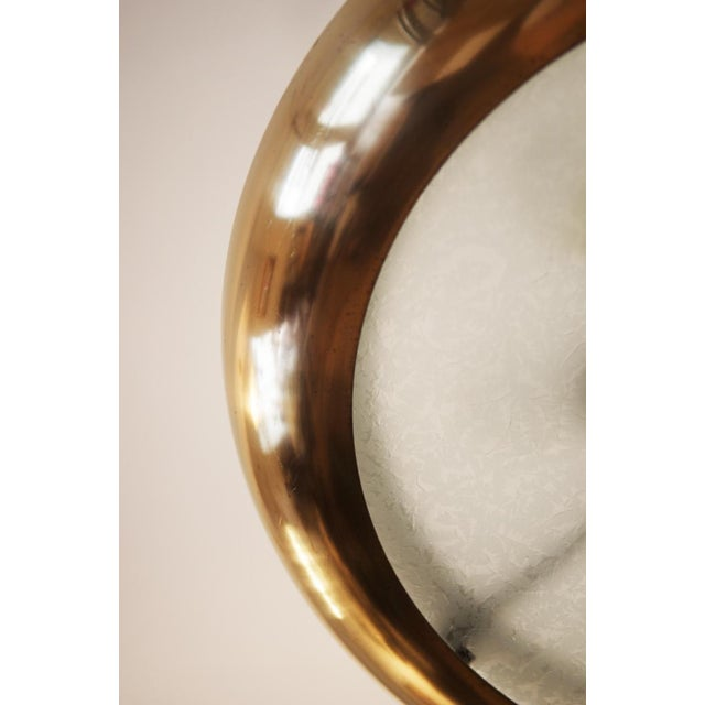 Large Bauhaus pendant lamp by Josef Hurka for Napako, 1938 For Sale - Image 5 of 10