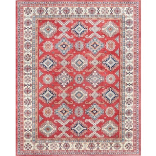 Pasargad Home Kazak Hand Knotted Wool Rug - 12′3″ × 15′5″ For Sale