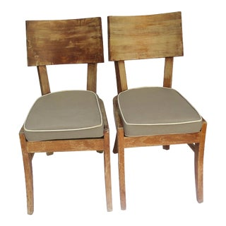 1960's French Occasional Chairs- a Pair For Sale
