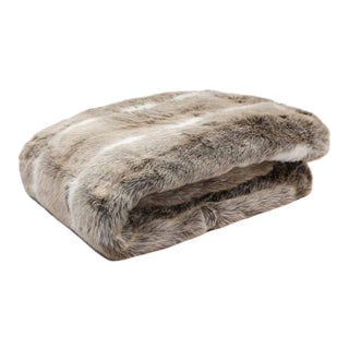Hygge Faux Fur Throw For Sale