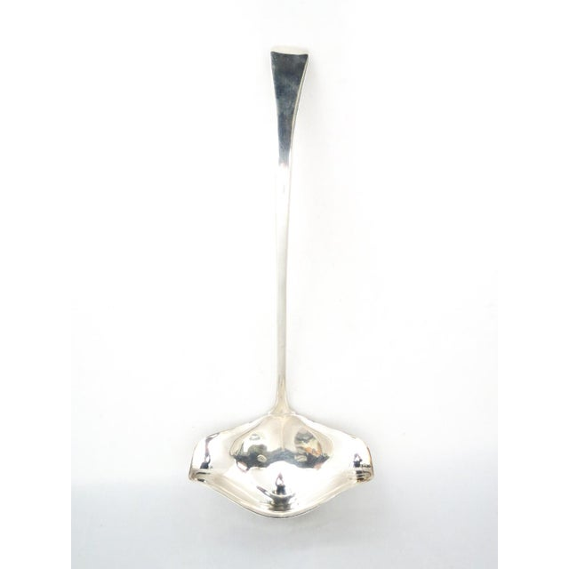 """International Silver """"Hutton"""" Silver Punch Ladle For Sale In Denver - Image 6 of 6"""