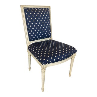 Mid 20th Century Louis XVI Style Side Chair For Sale
