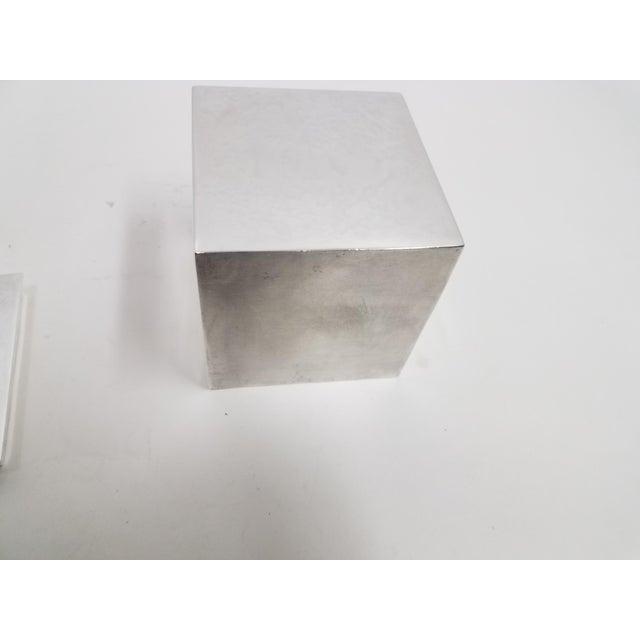 Carluccio Vintage Silverplate Box For Sale - Image 4 of 9