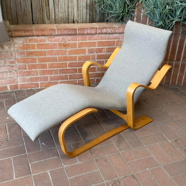 1980s Marcel Breuer Chaise Lounge For Sale - Image 12 of 13