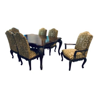 Louis XIV Jeffco Dinning Room Set - 7 Pieces For Sale