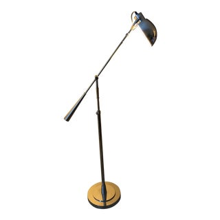 Modern Style Ralph Lauren Chrome Standing Lamp For Sale