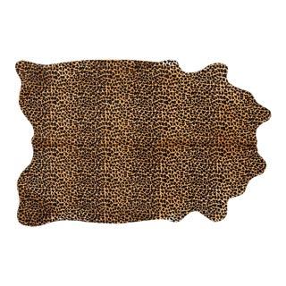 Leopard Print Genuine Brazilian Cowhide For Sale